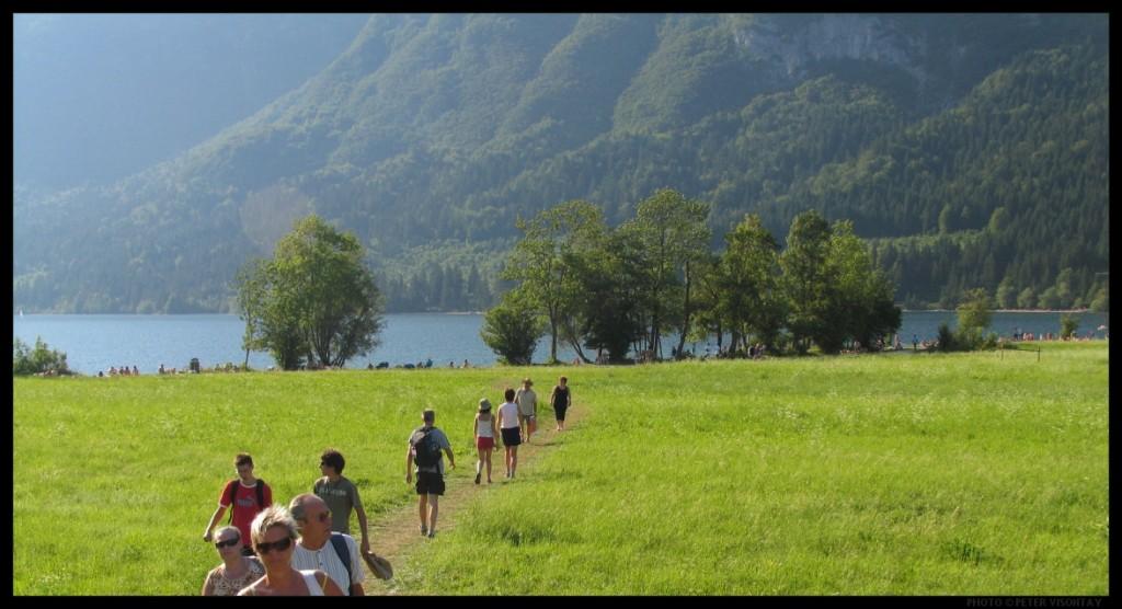 Bohinjsko jezero u Sloveniji