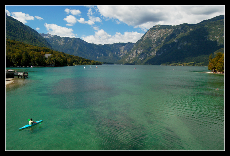 Legenda o jezeru Bohinj